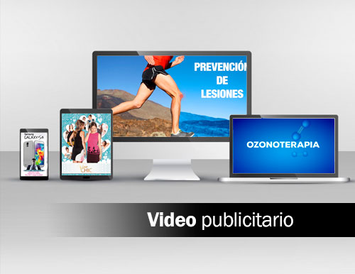 Video publicitario marketing visual
